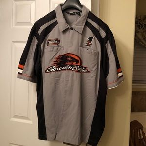 Men's HD Screaming Eagle short sleeved shirt
